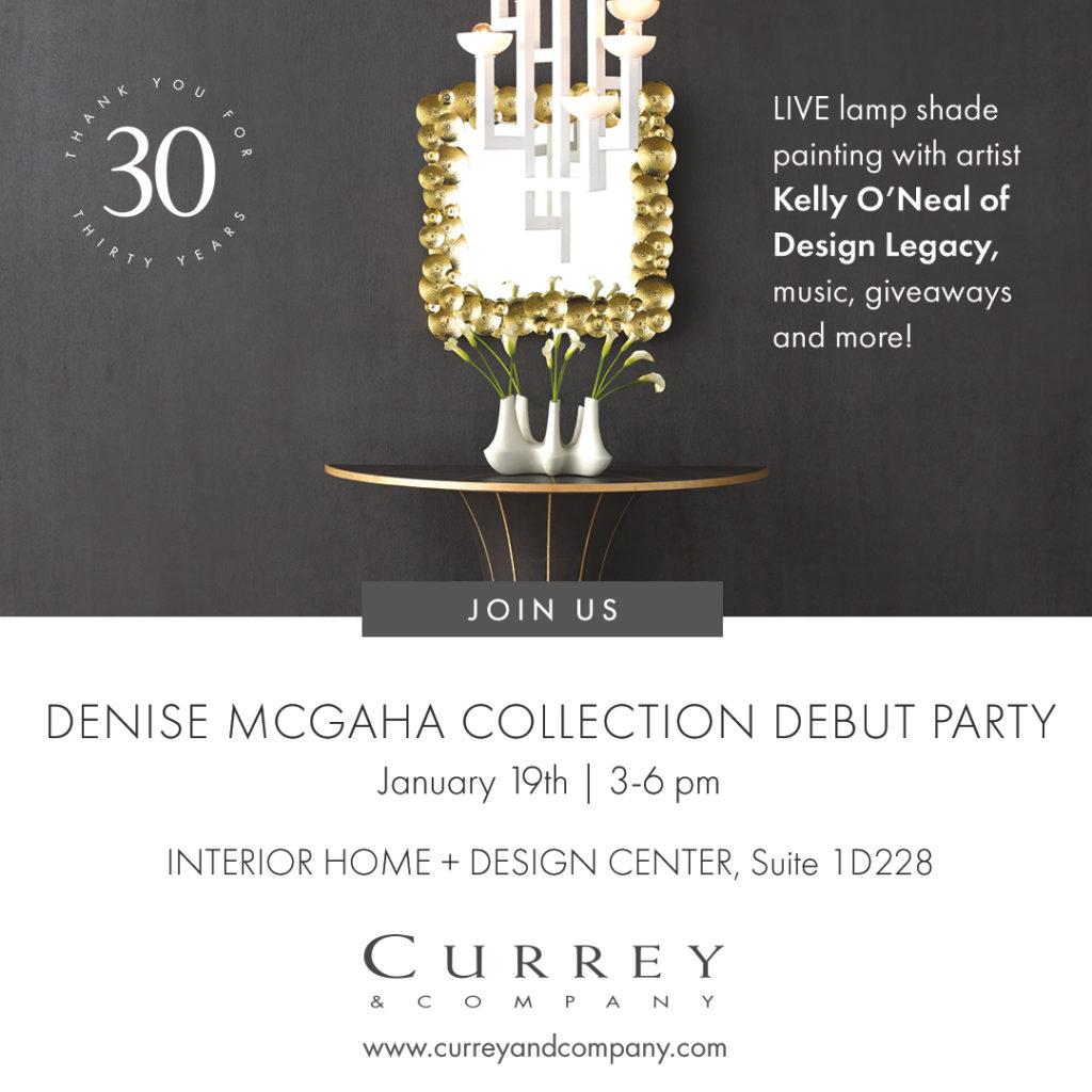 Denise Mcgaha And Currey Co At Dallas Market Denise Mcgaha